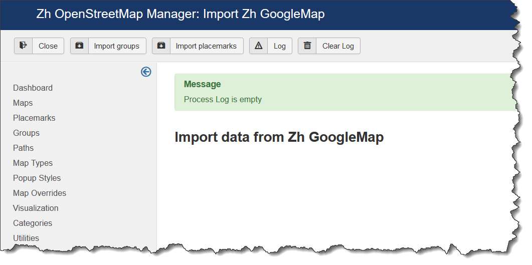OSM-Utility-Import-GM-Log-Empty.png